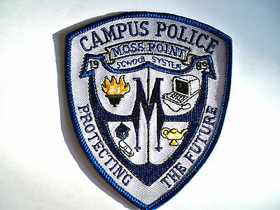 MISSISSIPPI POLICE PATCHES  MOSS POINT CAMPUS POLICE