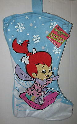 "The Flintstones ""Pebbles"" Felt Christmas Stocking 17"""