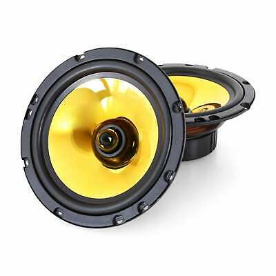 Kit Casse Auto Coppia Altoparlanti Speaker 1200 Watt 16,5 Cm  Goldblaster 6.5