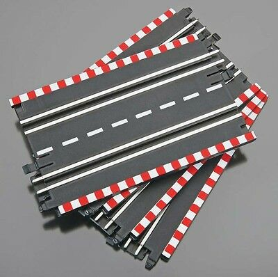 "Lot Of 3 Revell Spin Drive 1/43 7"" Straight Track 12 Pieces RMXW6114 Slot Car"