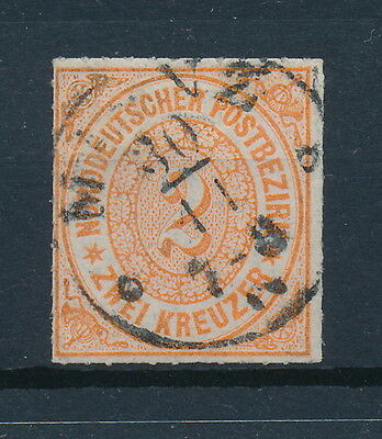 [88182] North Germany 1868 Good stamp Very Fine used Value $70