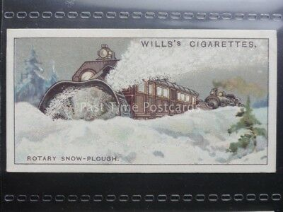 No.47 ROTARY SNOW PLOUGH, CANADA Engineering Wonders W.D.& H.O. Wills 1927