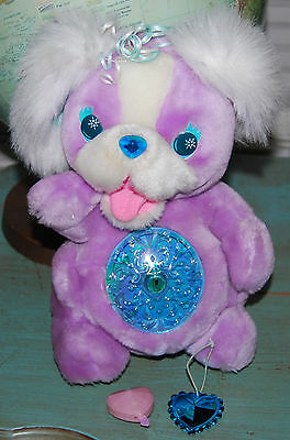Kenner 1994 Secret Keepins Pups Purple WITH KEY and CHARM