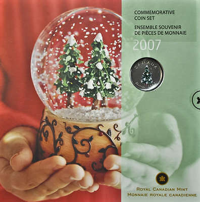 2007 Canada Holiday Gift Set - 7 coins