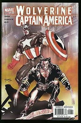 WOLVERINE AND CAPTAIN AMERICA #1-4 NEAR MINT COMPLETE SET 2004