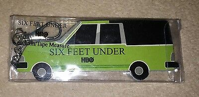 Six Feet Under Hearse Tape Measure HBO Official Merchandise SEALED MINT