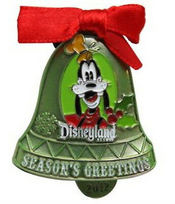 Disney Pin Nwt Goofy Christmas Bell Ornament Dlr 2012 Holiday Seasons Greetings