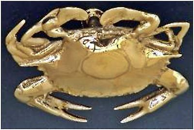Small Polished CHROME CRAB DOOR KNOCKER Nautical SCBK-C  ~ New