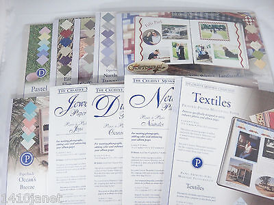 Creative Memories Photo Mounting Paper 10x12 Package of 12 YOU CHOOSE