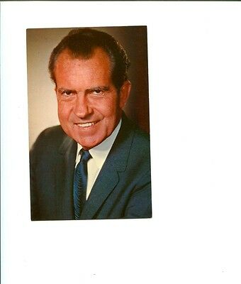 Richard Nixon US President Watergate Vintage Inauguration Photo Postcard