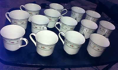 13 Vintage Abingdon Tea Cups China - Japan - Wow condition