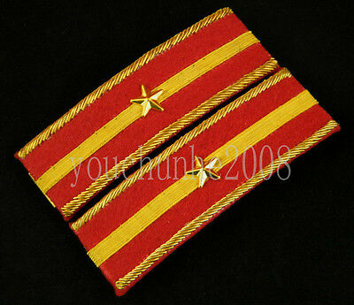 Wwii Imperial Japanese Army Second Lieutenant Shoulder Boards-35672