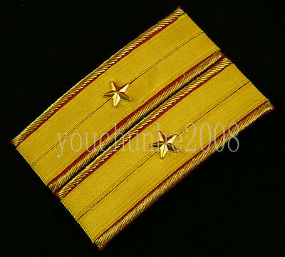 Wwii Imperial Japanese Army Major General Shoulder Boards-35678