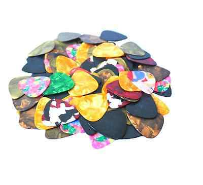 Acoustic Bulk Celluloid Electric Smooth Guitar Pick Picks Plectrum 0.46mm 10X