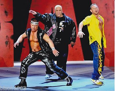 Scotty 2 Hotty Rikishi Grandmaster Sexay Too Cool 8x10 photo WWE old school ru2