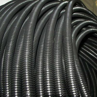 """20' Feet 1/2"""" Split Loom Wire Cable Flexible Tubing Wire Conduit Hose Cover Car"""