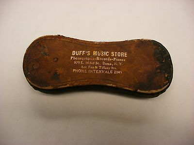 Phonograph Victrola Gramophone - Record Duster - Duff''s Music Store Bronx