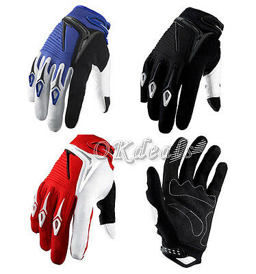 Gants Doigt Complet Protection Moto Sports Motocross Vélo Taille M L XL Gloves