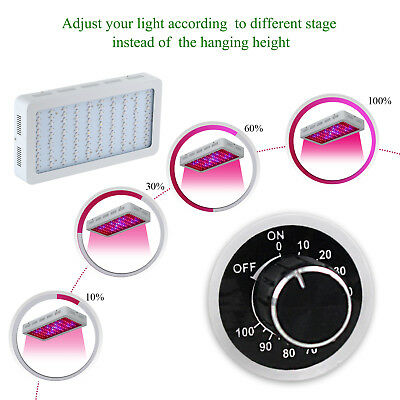 Full Spectrum 300W Dimmable daisy chain LED PflanzeLampe für Pflanze Blooming