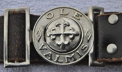 1930s Finland Boy Scout Good State Original Belt w Buckle OLE VALMIS BE PREPARED