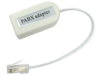 RJ45 to BT Socket Adaptor PABX Phone Line Telephone Converter PBX