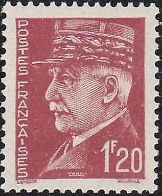 """FRANCE STAMP TIMBRE N° 515 """" MARECHAL PETAIN 1F20 """" NEUF xx TTB"""