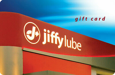 $50 Jiffy Lube Gift Card for $40