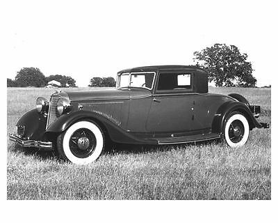 1933 Lincoln Judkins Coupe Automobile Photo Poster zch6144
