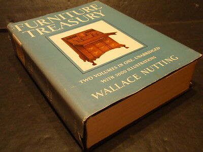 FURNITURE TREASURY by WALLACE NUTTING.... PRIMO!  1965 EDITION