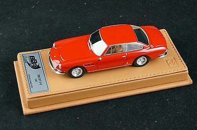 1/43 BBR FERRARI 330 GT 2+2 1967 RED ON BROWN DELUXE LEATHER BASE LE 20 PCS N MR