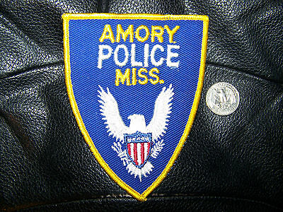 AMORY, MS POLICE PATCH