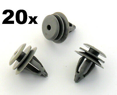 20x BMW Plastic Trim Clips for Interior Door Cards, Trim Panels, Covers & Fascia