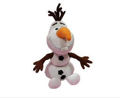 "Free shipping Movie Olaf Snowman 25cm/10"" Plush Toy Doll New"