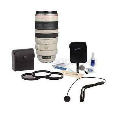 Canon EF 100-400mm f/4.5-5.6L USM IS Lens Bundle. USA. Value Kit w/Acc #2577A002