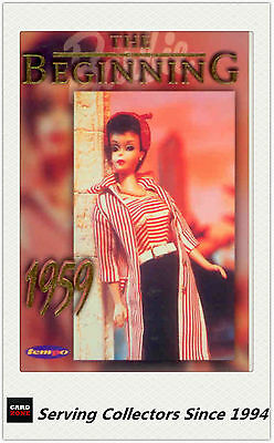 1996 Australia Tempo 36 Years Of Barbie Trading Cards Happy Birthday Card HB3