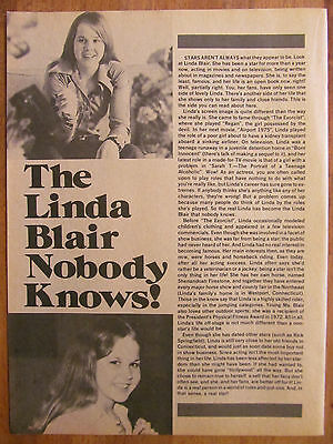 Linda Blair, Full Page Vintage Clipping, The Exorcist