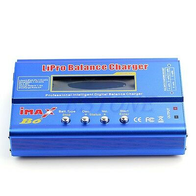 Hot iMAX B6 LCD Screen Digital RC Lipo NiMh Battery Balance Charger New
