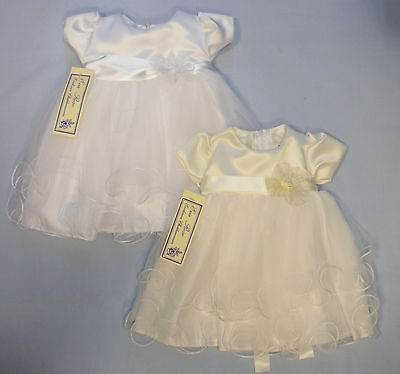 Baby Babies Girls Occasional Dress Party Bridesmaid Christening Wedding Formal
