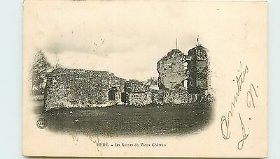 35* HEDE ruines chateau