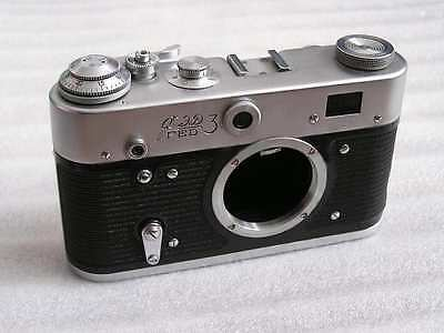 FED 3 type B Russian Leica M39 mount camera BODY only 1480
