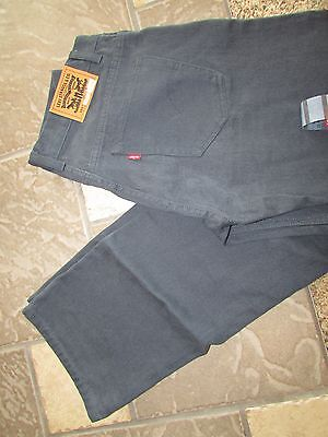 New Levis 505 Straight Fit Jeans Mens 30X30 Boys 20 Deep Blue-Green Free Ship