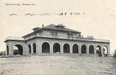 Country Club, Marion, Indiana Antique Postcard (T1535)