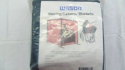 "NOS New Unused Wilson 906 Weld O Glass 6' X 8' Welding Blanket - 72"" X 96"""