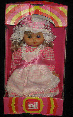 """Du Jouet French Madeline Vintage Doll Compagnie 14"""" - MIB"""