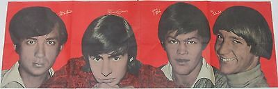 The Monkees Vintage Color Magainze Poster - Mike - Micky - Davey & Peter