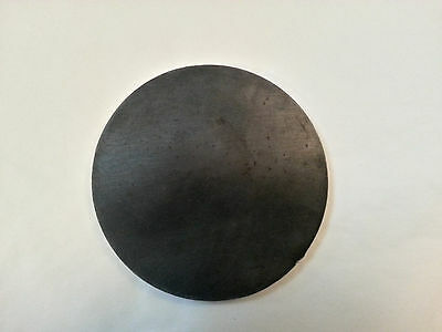 "1/4 .250 Steel Circle, Disc 5"" Diameter Bullseye Metals"