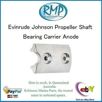 A Brand New Gearbox Bearing Carrier Anode Evinrude Johnson Outboards # CDZ9-57