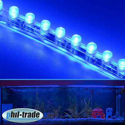 led aquarium wasserdicht mondlicht 16 leds blau l 50cm chf picclick ch. Black Bedroom Furniture Sets. Home Design Ideas