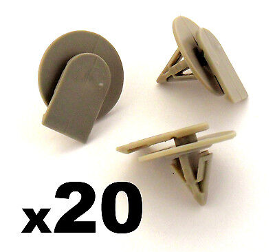20x BMW Mini Protective Plastic Side Skirt / Sill Cover Trim Fastener Clips