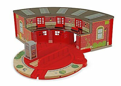 Melissa & Doug Roundhouse Set fits Thomas & BRIO MD 618 NIB